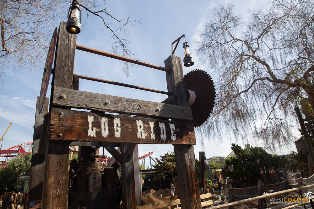 Timber Mountain Log Ride is down for a winter refurb. No idea when it's back up. Didn't ask.