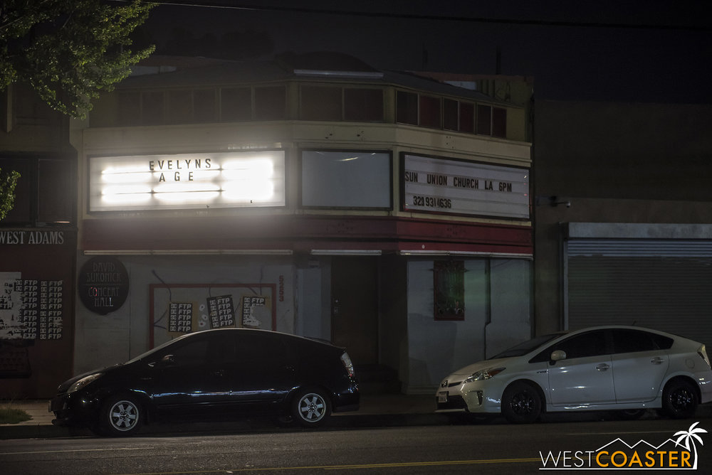 A derelict-looking theater storefront hides a most astounding adventure inside.