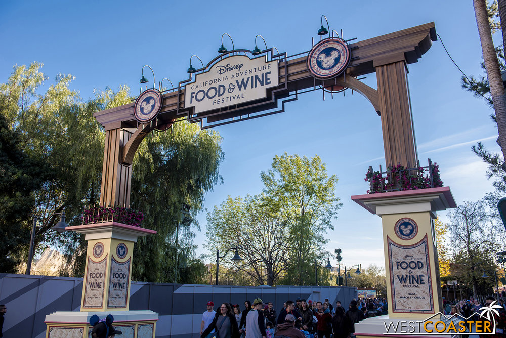 Food & Wine is back at DCA this year!