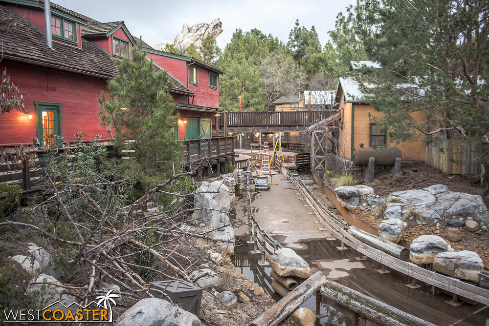 Grizzly River Run is still down for this apparently more extensive refurb.
