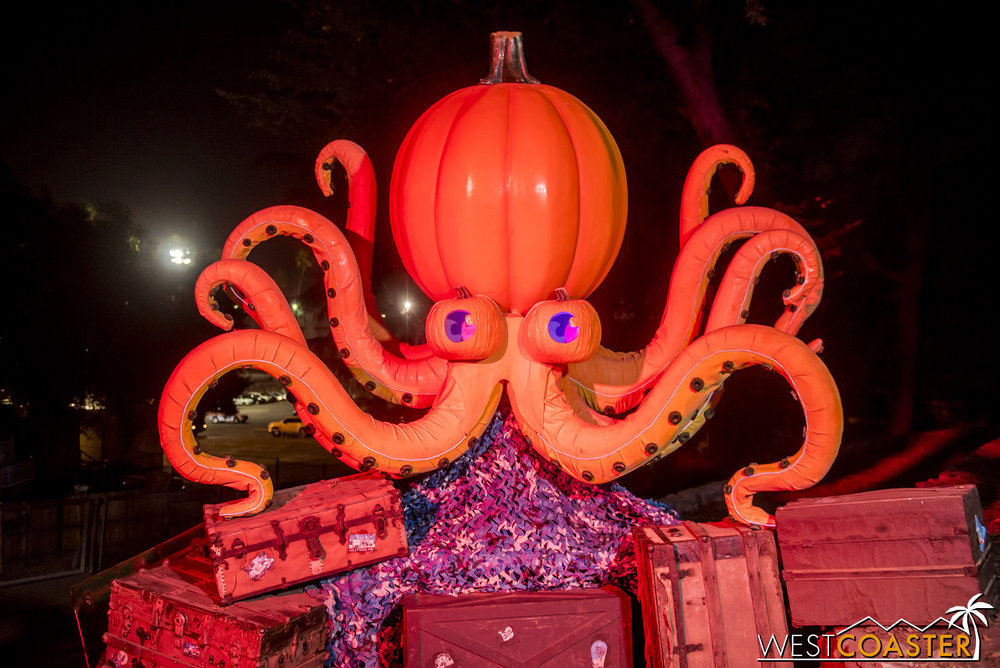 Check out the octopus!