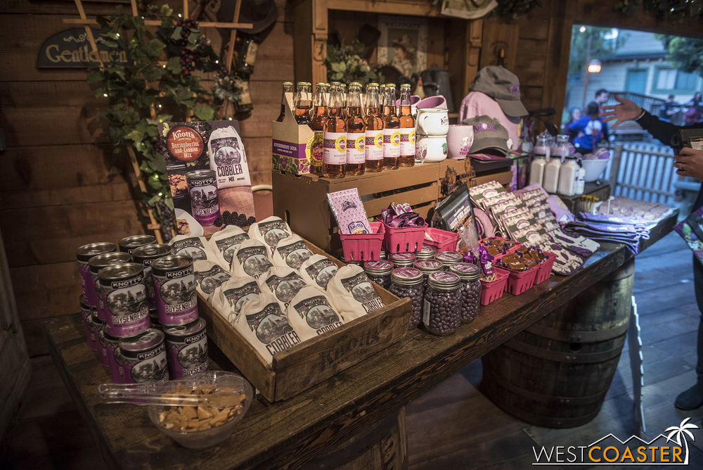 Want to take home something boysenberry for later consumption?  Knott's has you covered!