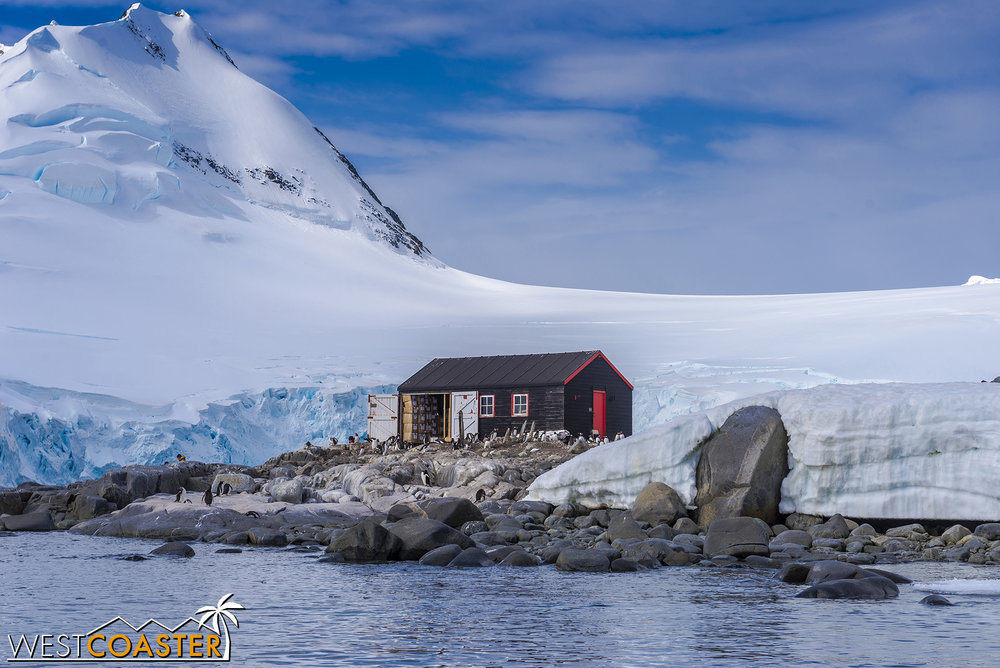 Port Lockroy, home to scientific observation and a historic museum!