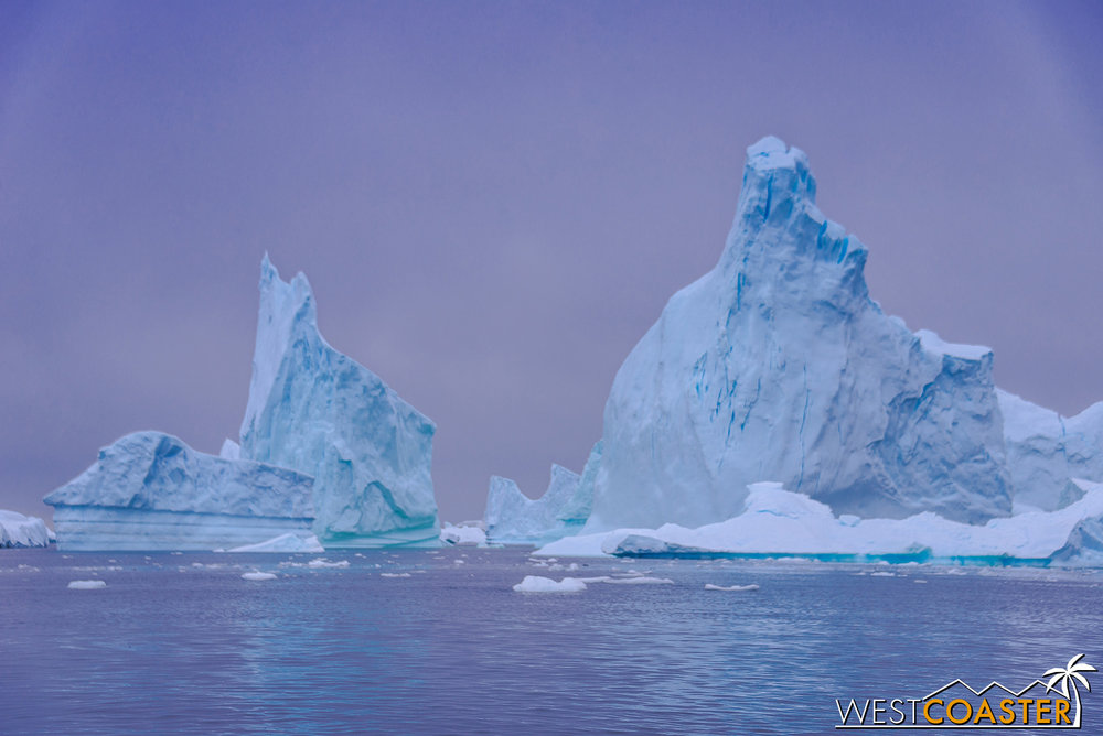 Pléneau Bay, featuring the iceberg graveyard (or gallery).
