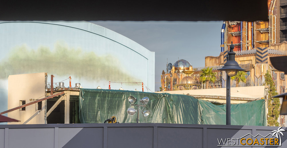 I hadn't gone up there since the Cars Land construction update photography days.