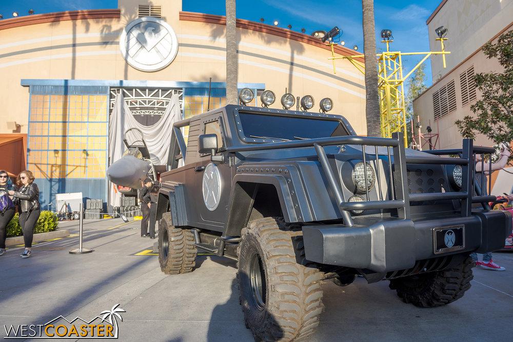 The Avengers Humvee!!!