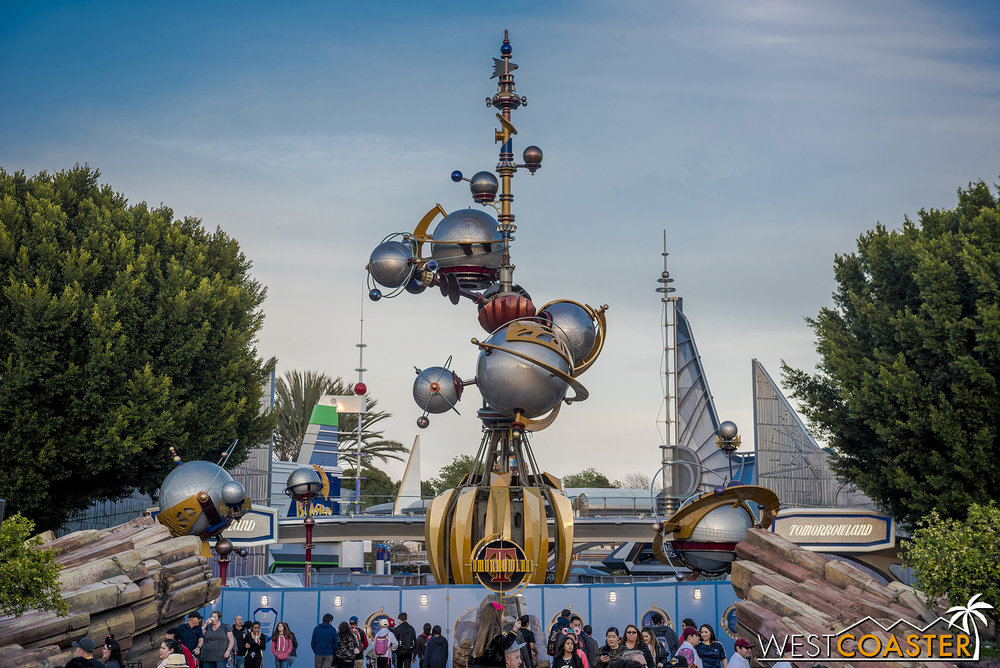 The Astro Orbitor is back together!