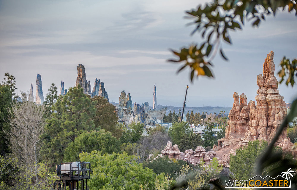 We'll close out with some views from Tarzan's Treehouse.