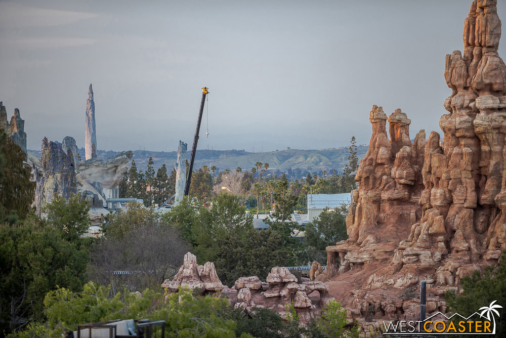 I do love how these spires integrate with the Frontierland skyline.
