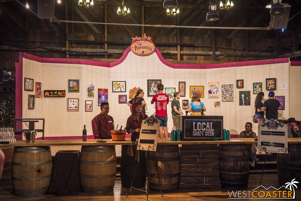 The Tangled Up in Knott's art show is back in the Wilderness Dance Hall.
