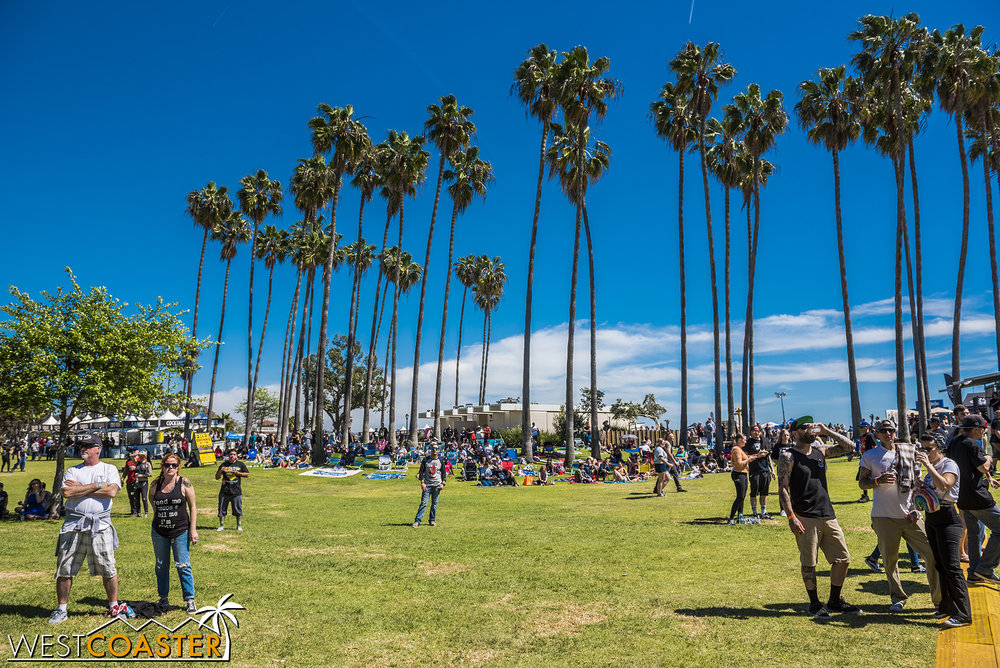 What a lovely setting for a beer, taco, and music festival!