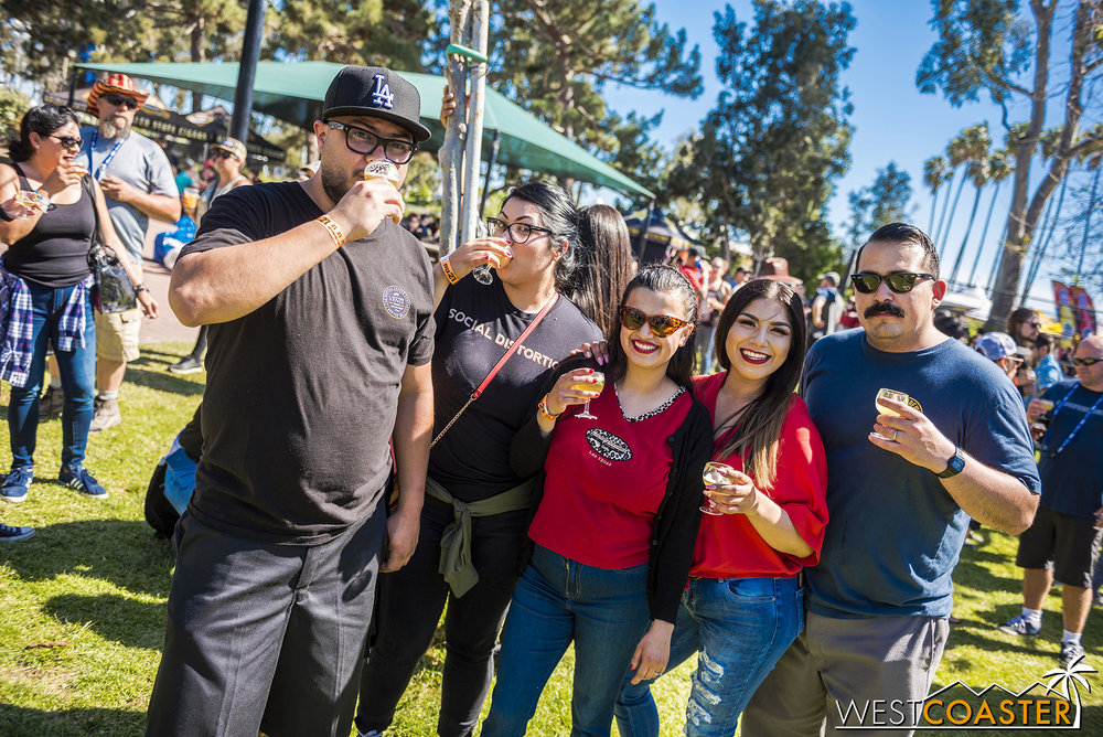 Sabroso Festival: a great place for friends to hang out.