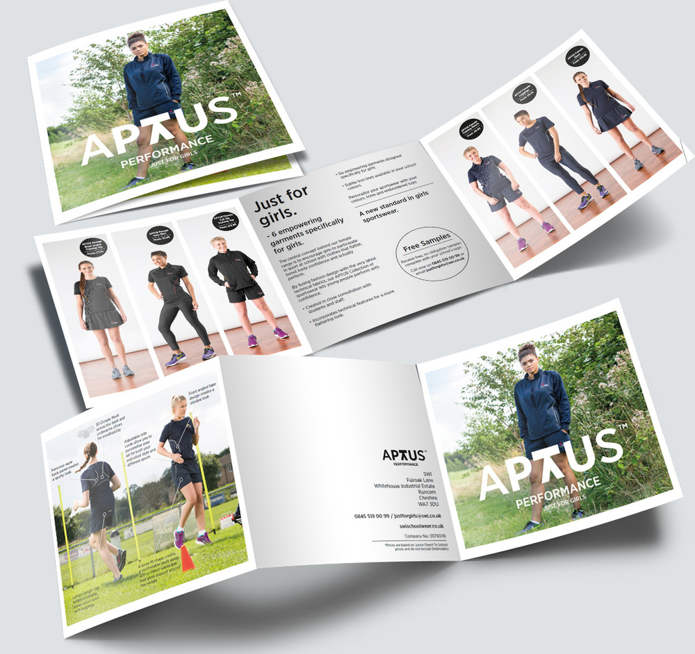 APTUS Performance Trifold Flyer 2016