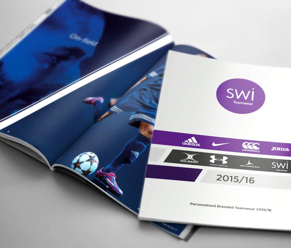 SWI Teamwear Brochure 2015/16