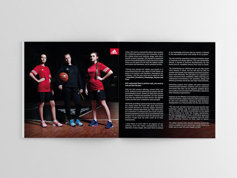 SWI Teamwear Brochure 2016/17