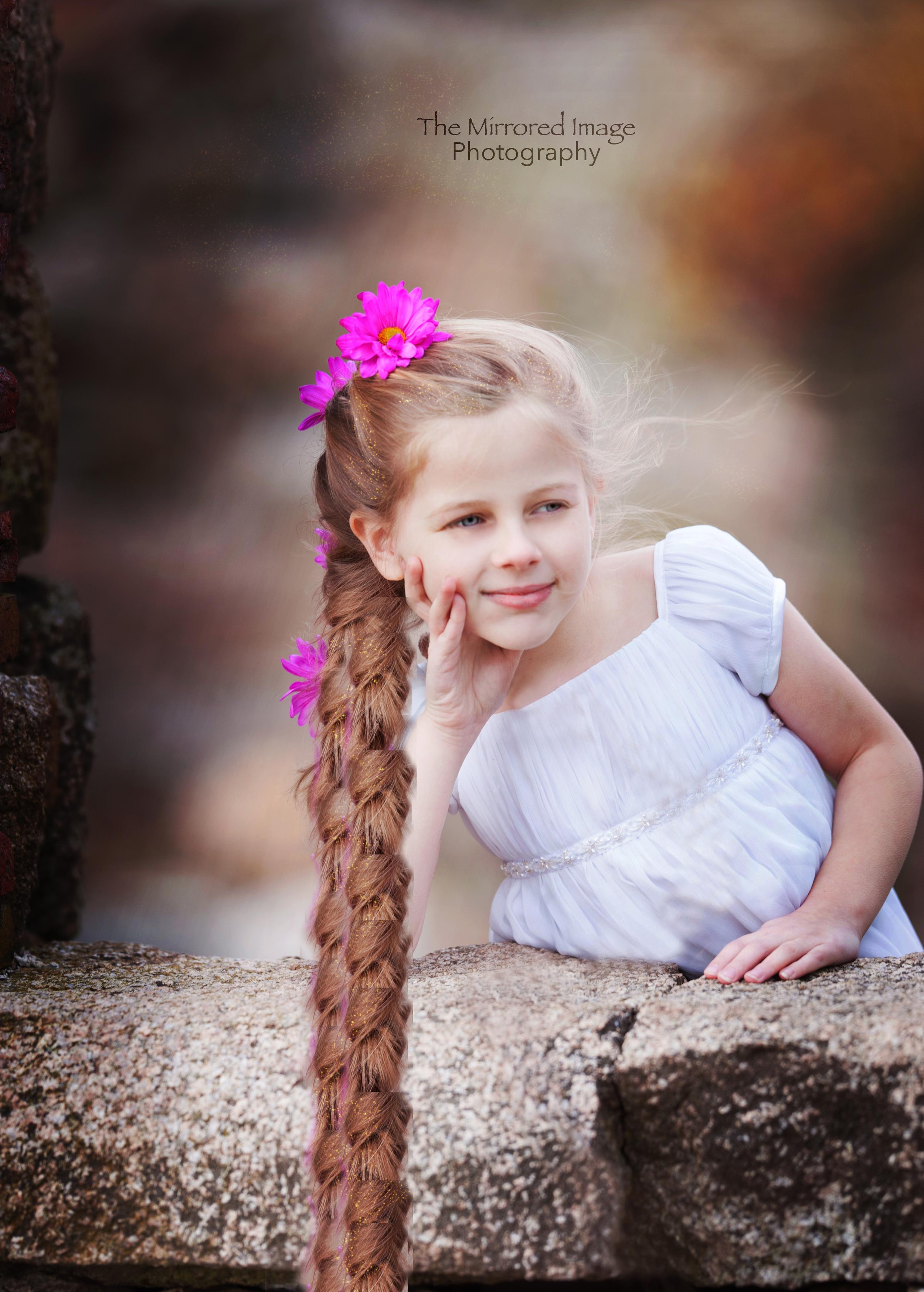 Rapunzel, Creative Children's Portrait