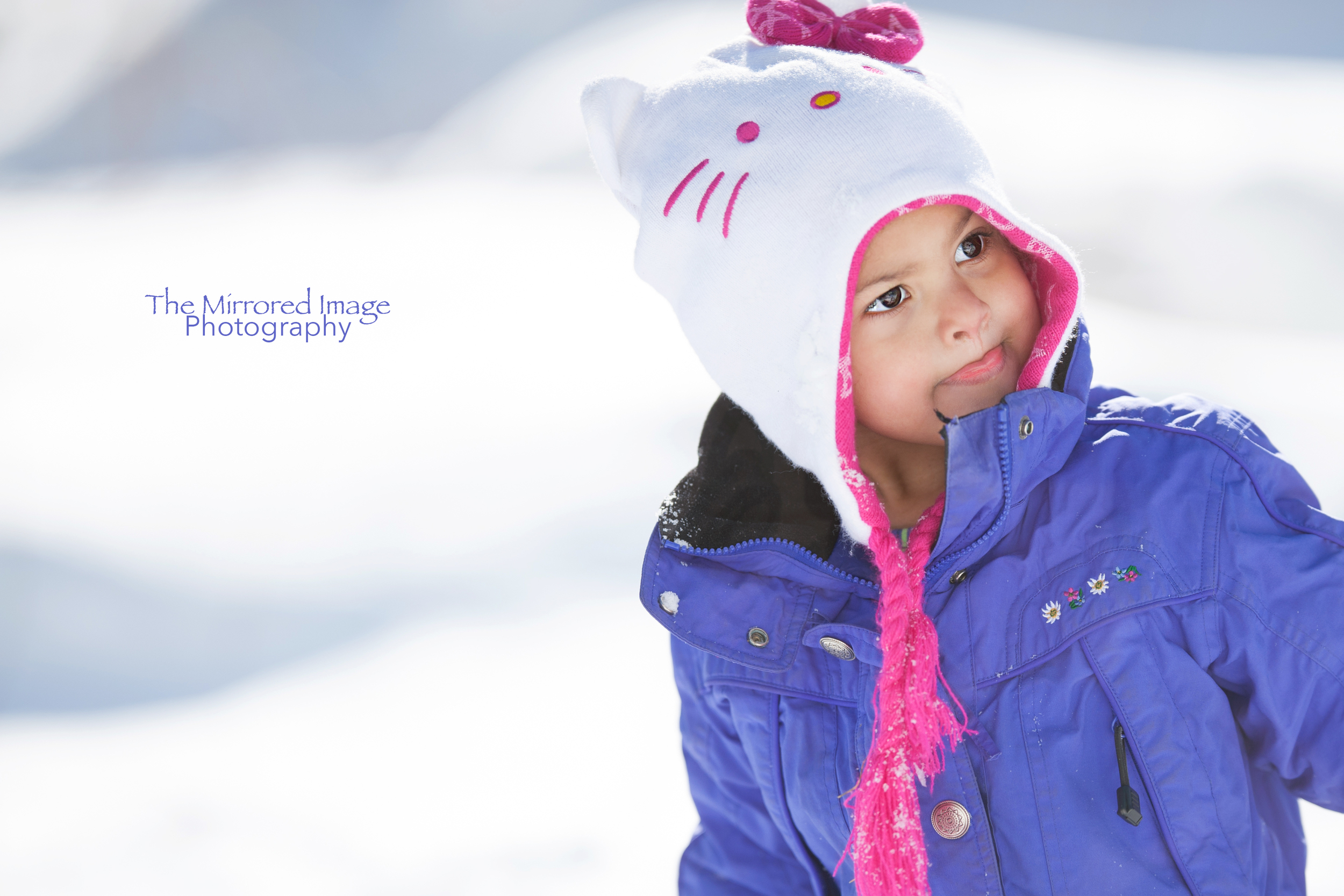 Professional Children's Portraits, Family Photography, Snow Angel, Snow Baby, Winter Portraits