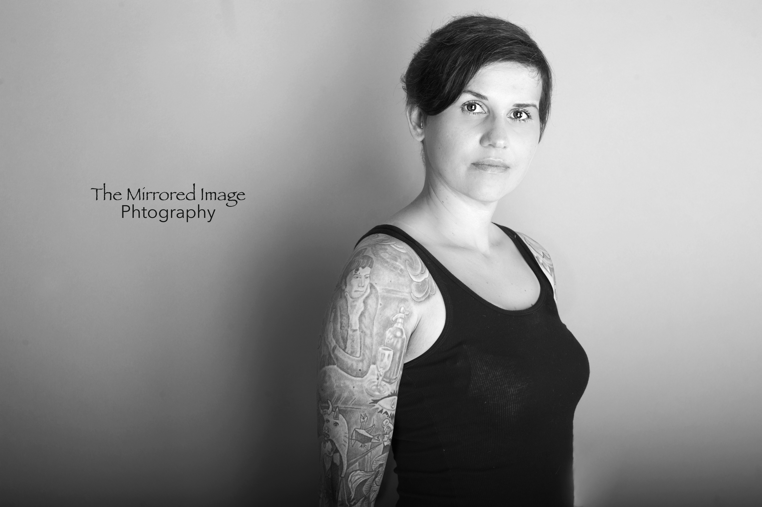 Woman, Tattoo, Photography