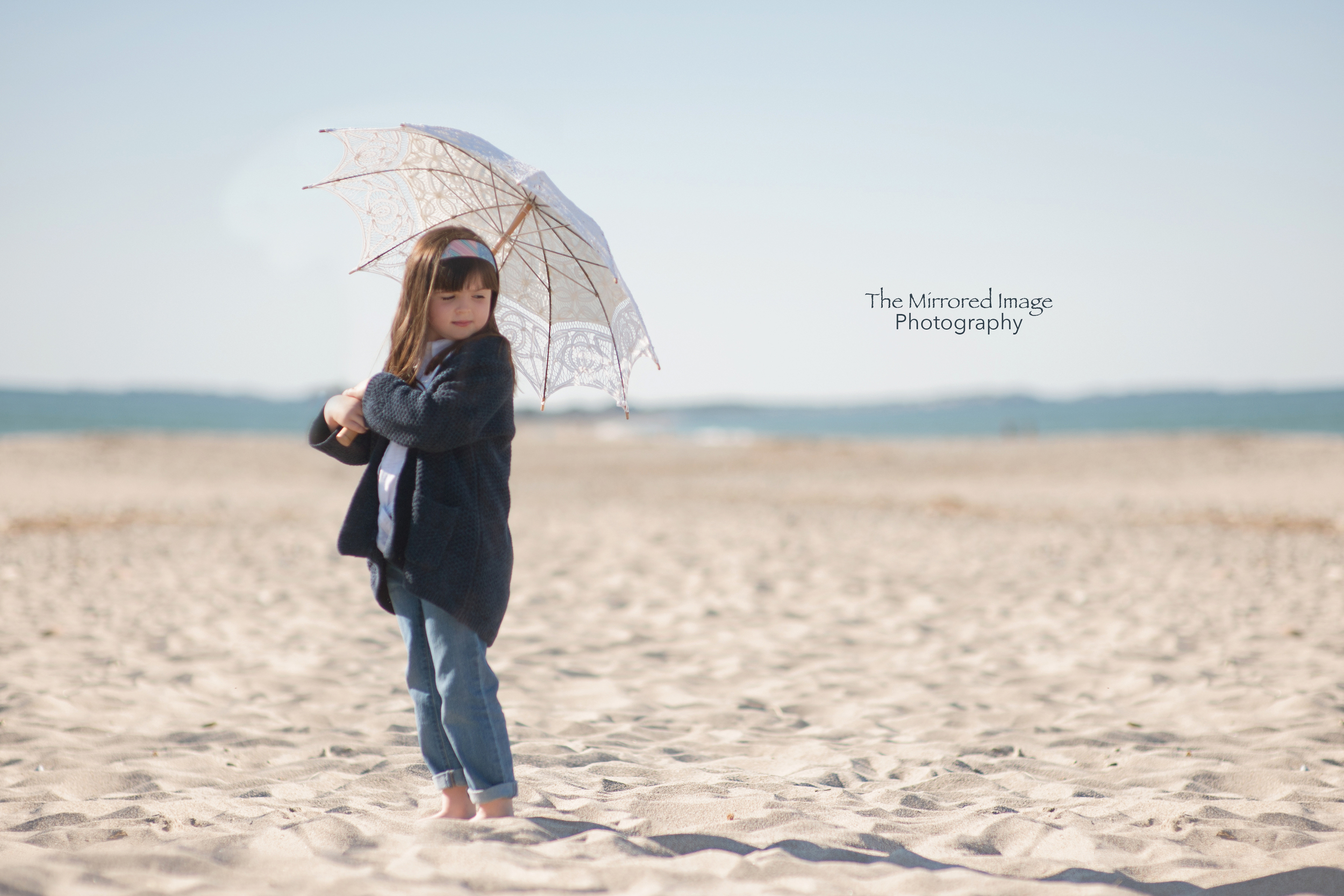 Beach Portrait with props