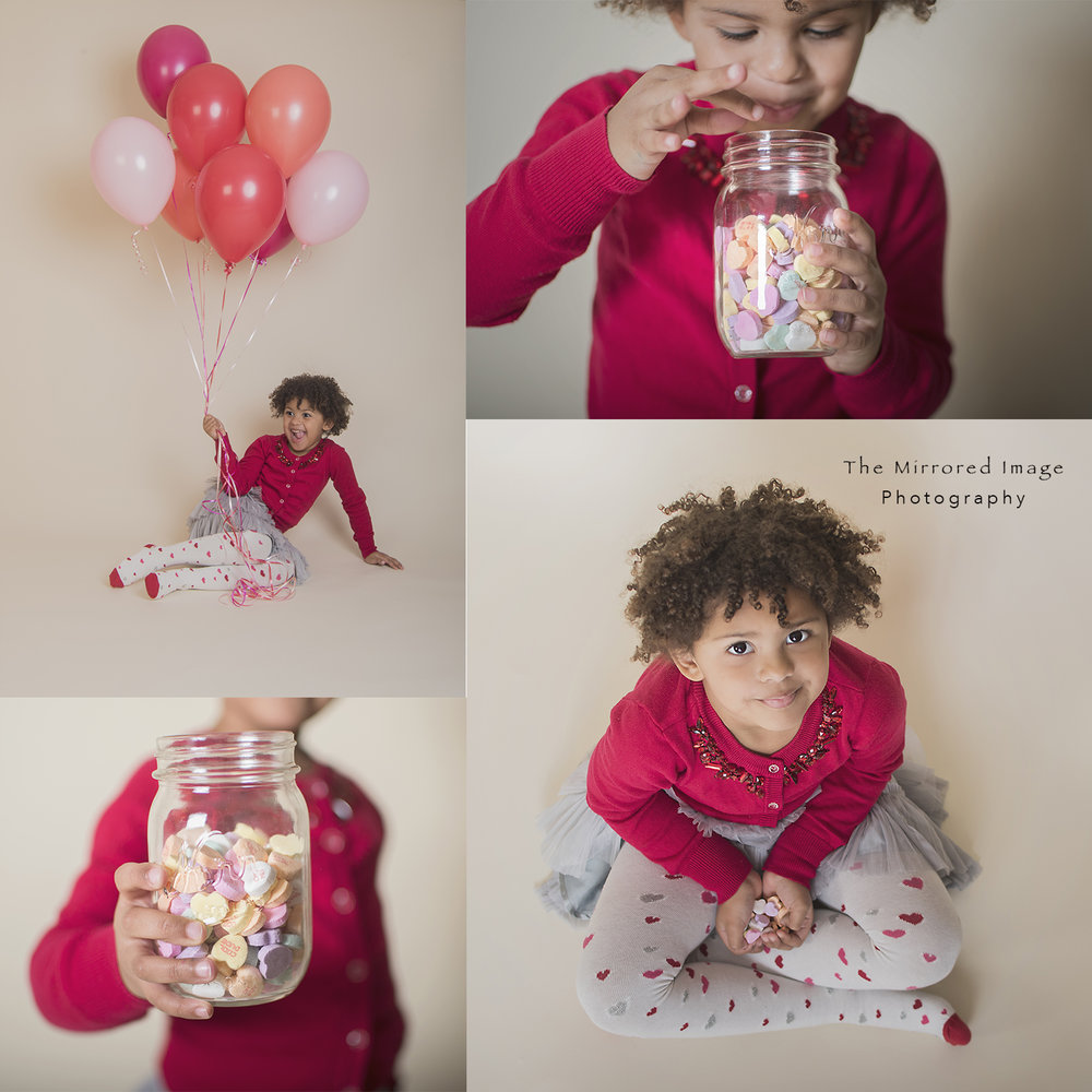 Valentine's Day Mini Session Collage