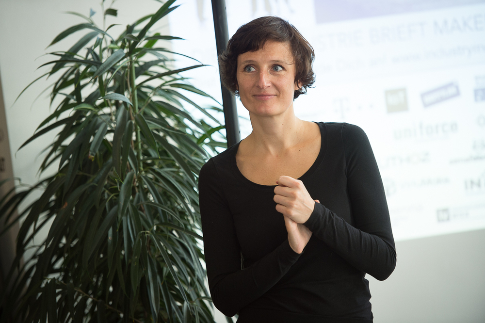Sandra Stromberger, Initiatorin von Industry meets Makers