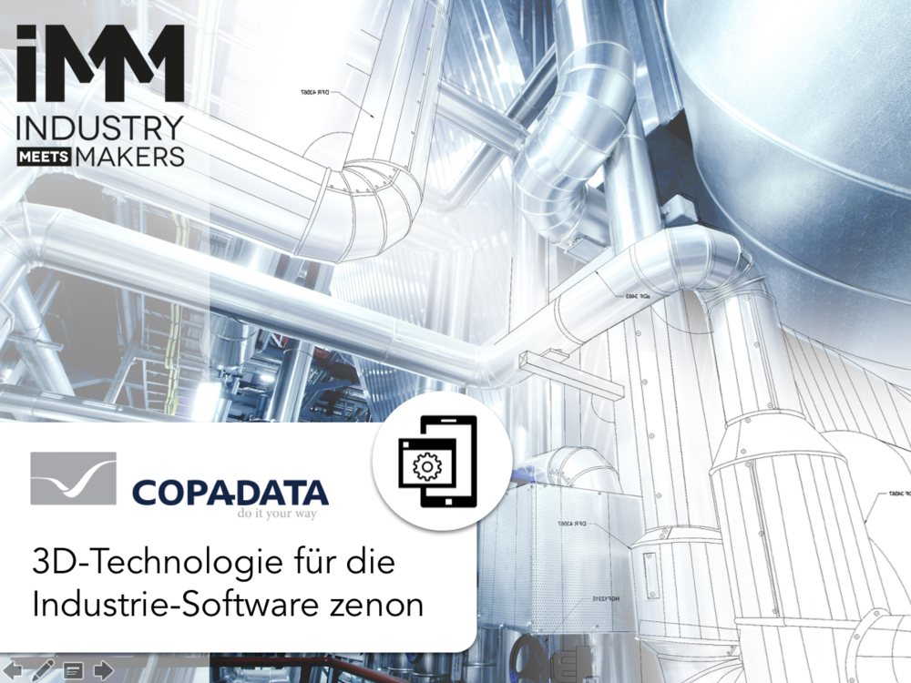Copa Data 3D Technologie für zenon