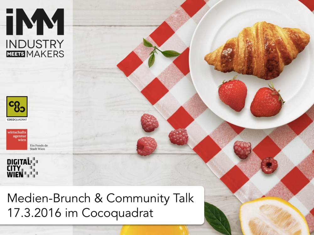 Industry meets Makers Medien_Brunch