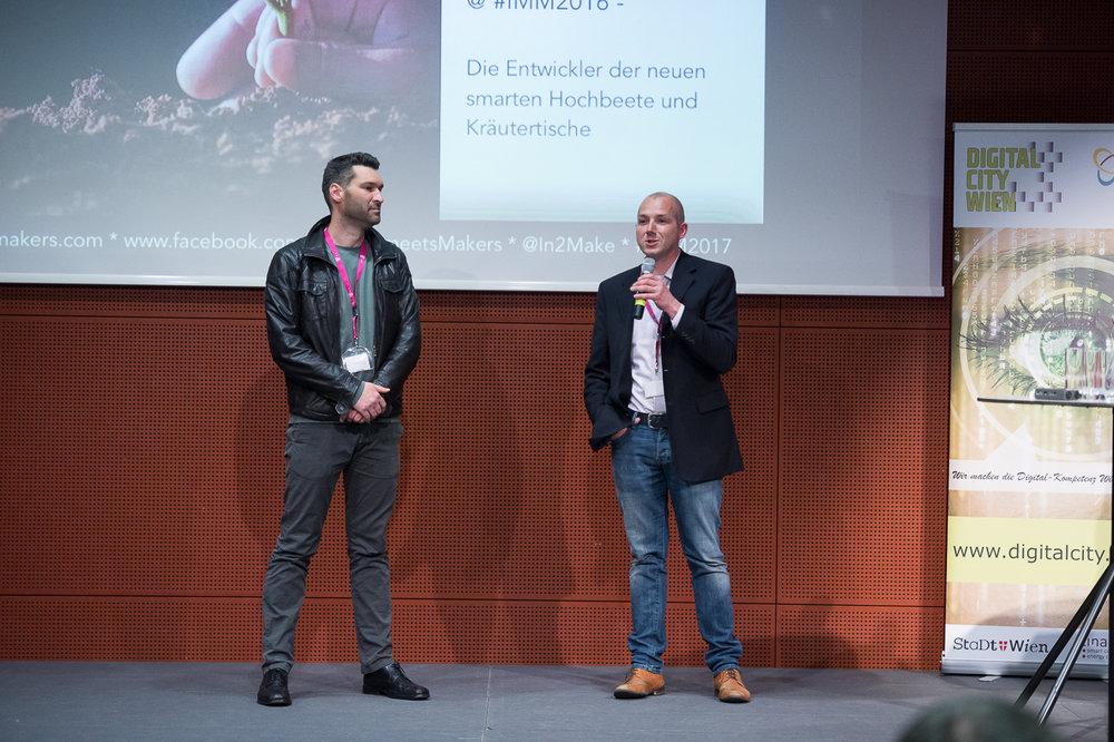 Robert Veselka und Manfred Czujan (Smartgreen)