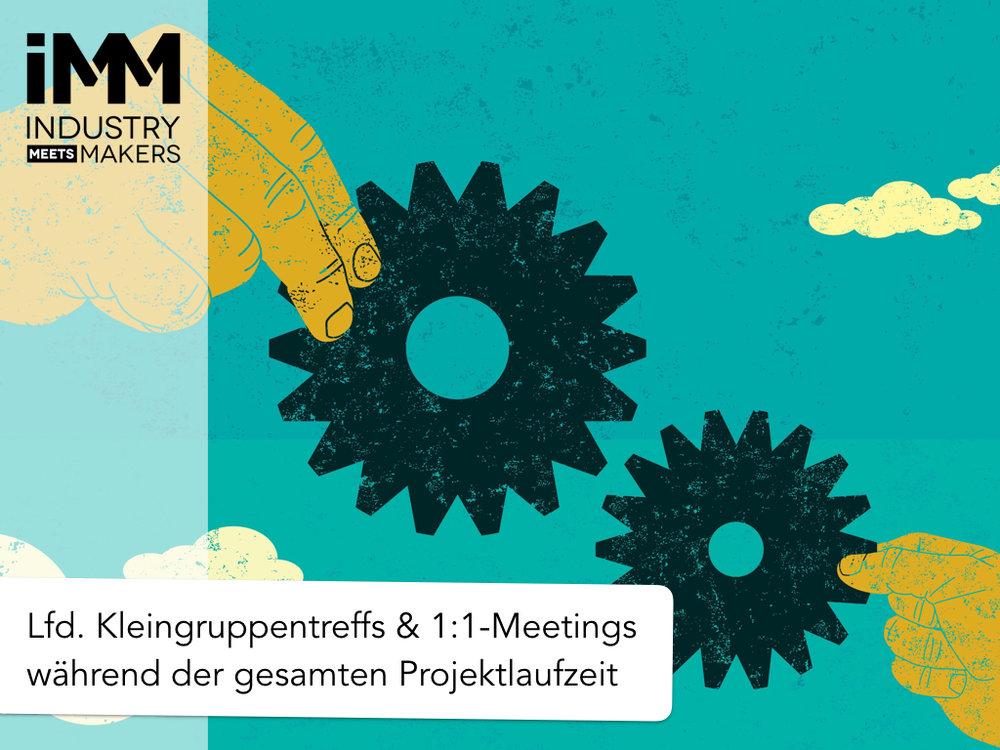 Industry meets Makers Kleingruppentreffs 2017