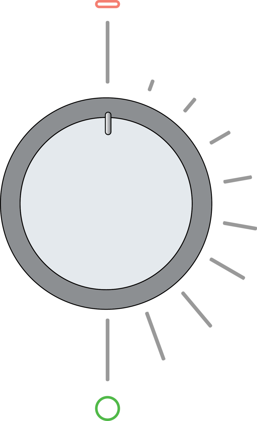 All-in-one dial