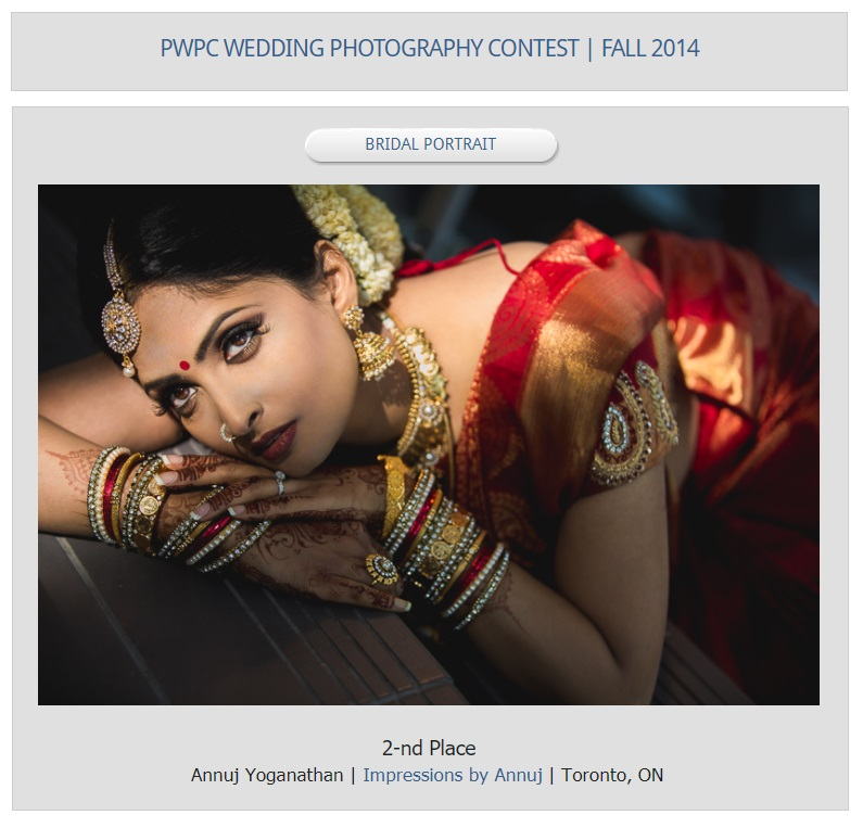 PWPC - Fall 2014 - Bridal Portrait - 2nd Place.jpg