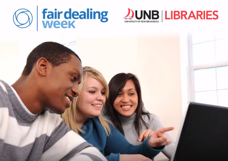 University of New Brunswick Libraries Fair Dealing Week Video