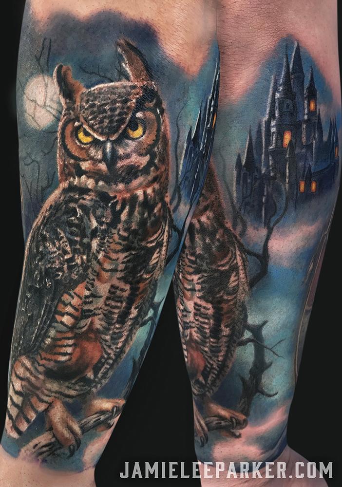 Owl & Castle