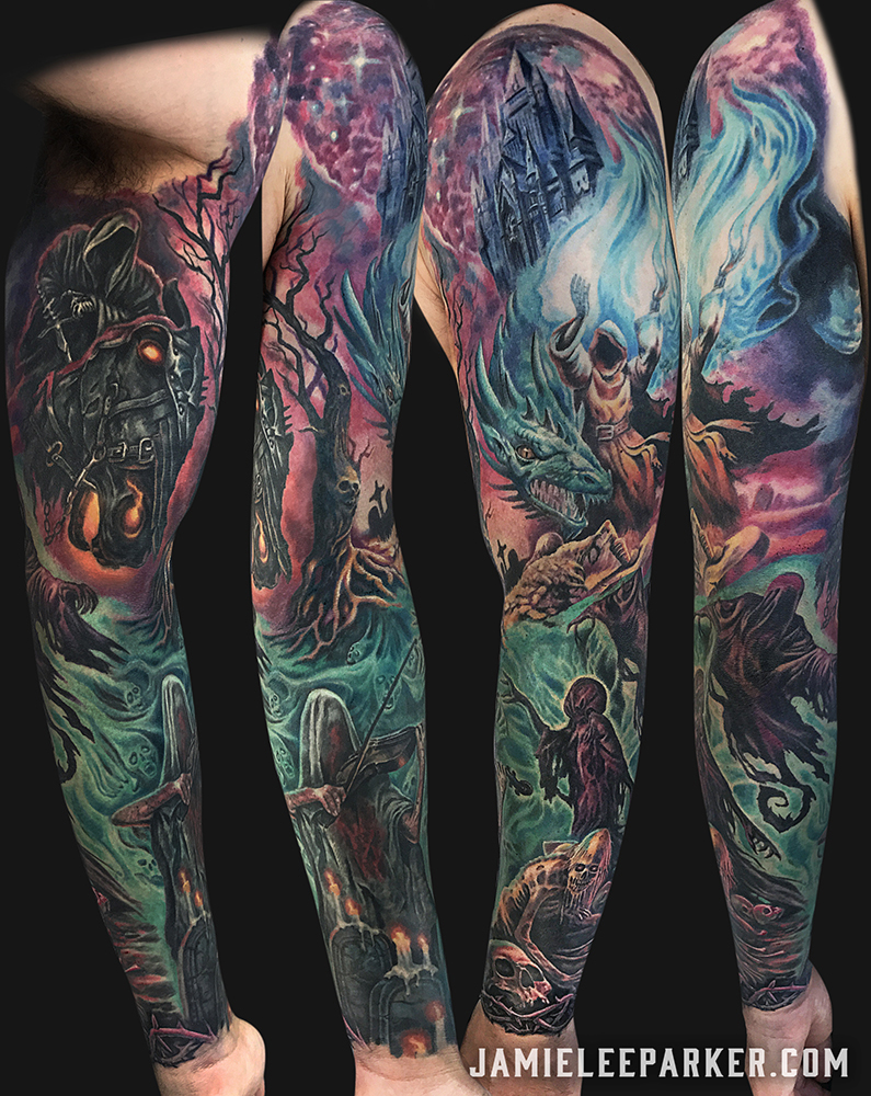 Dark Fantasy Arm Sleeve