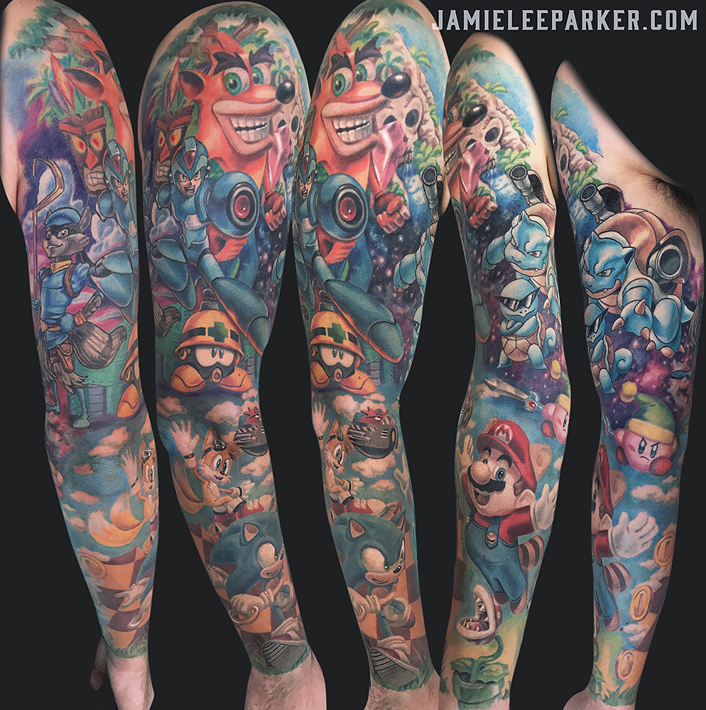 Video Game Sleeve