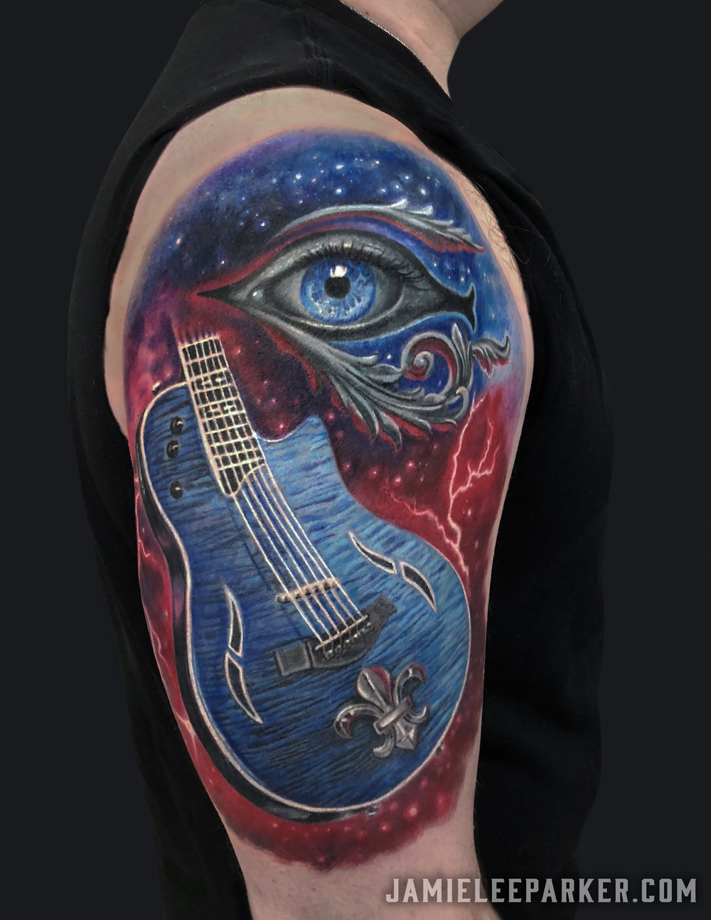 Electric Guitar & Eye