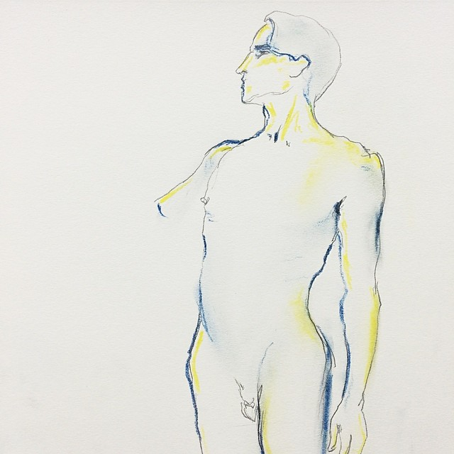 Life Drawing, 10 sec time session