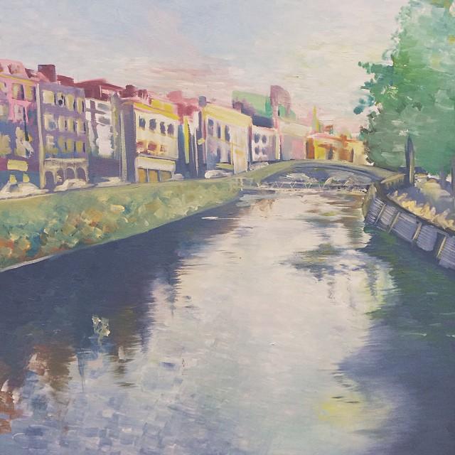 Dublin, Oil Painting