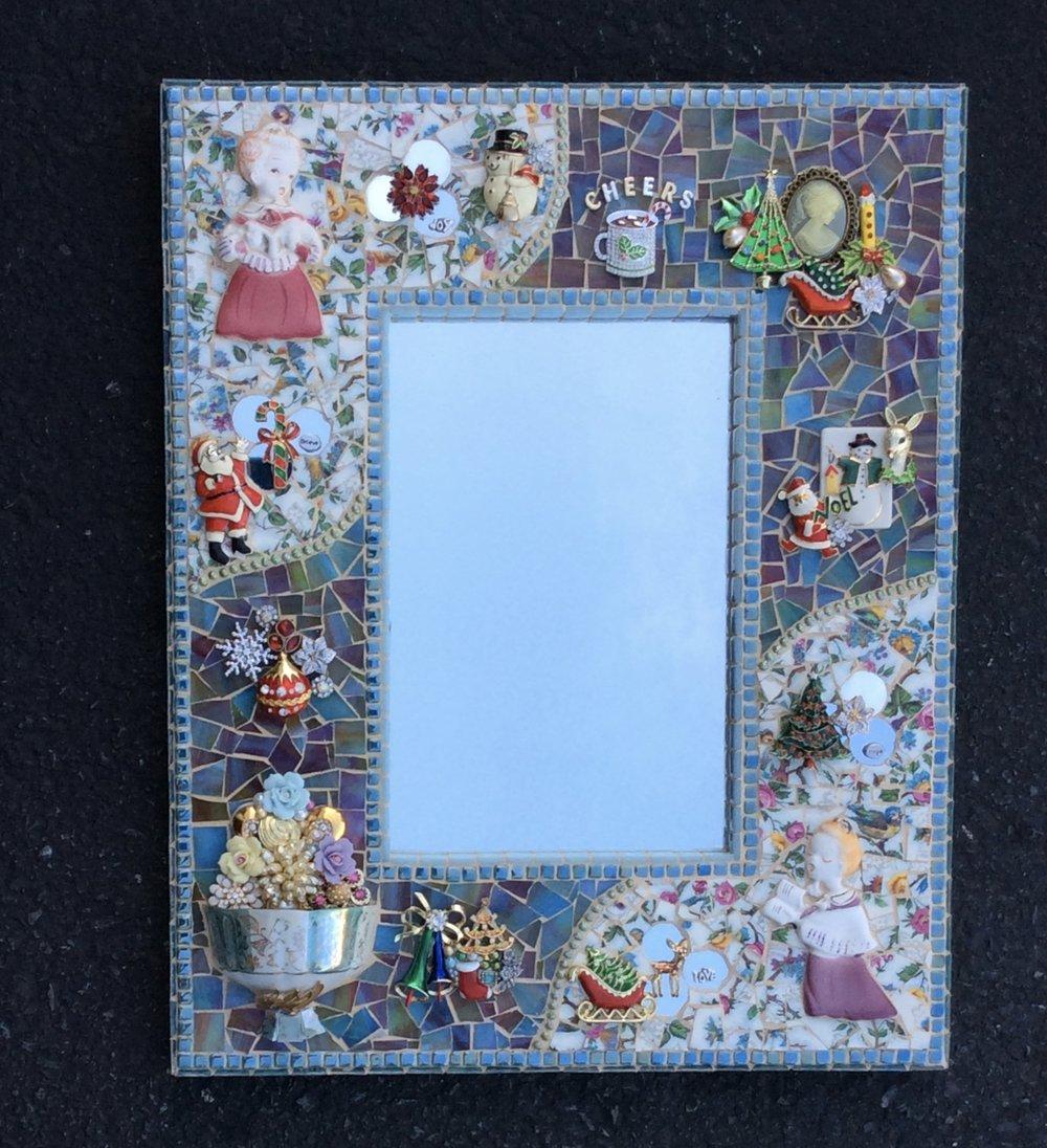 Christmas Bazaar Mirror for St. Cecelia's Parish Adams, NY.