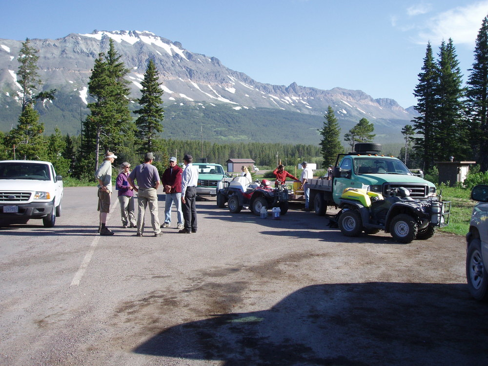 2008 Marias Pass Spray Day