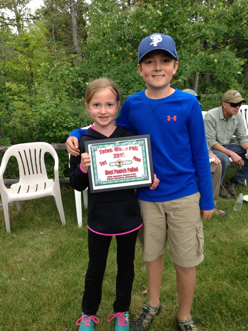2016 Teton Weed Pull Award