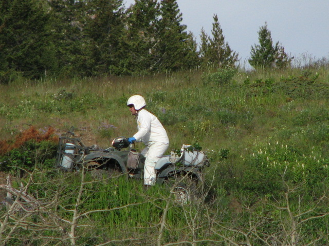 2011 ATV spraying