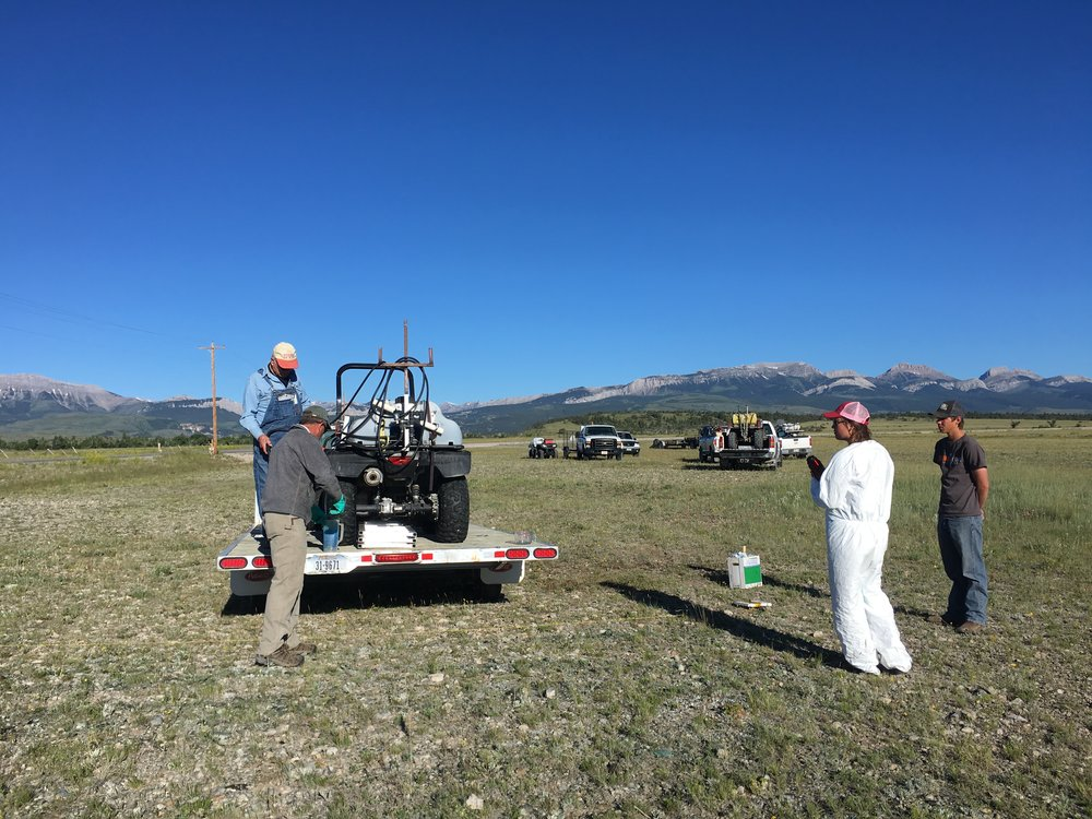 2017 Teton Spray Day - calibration