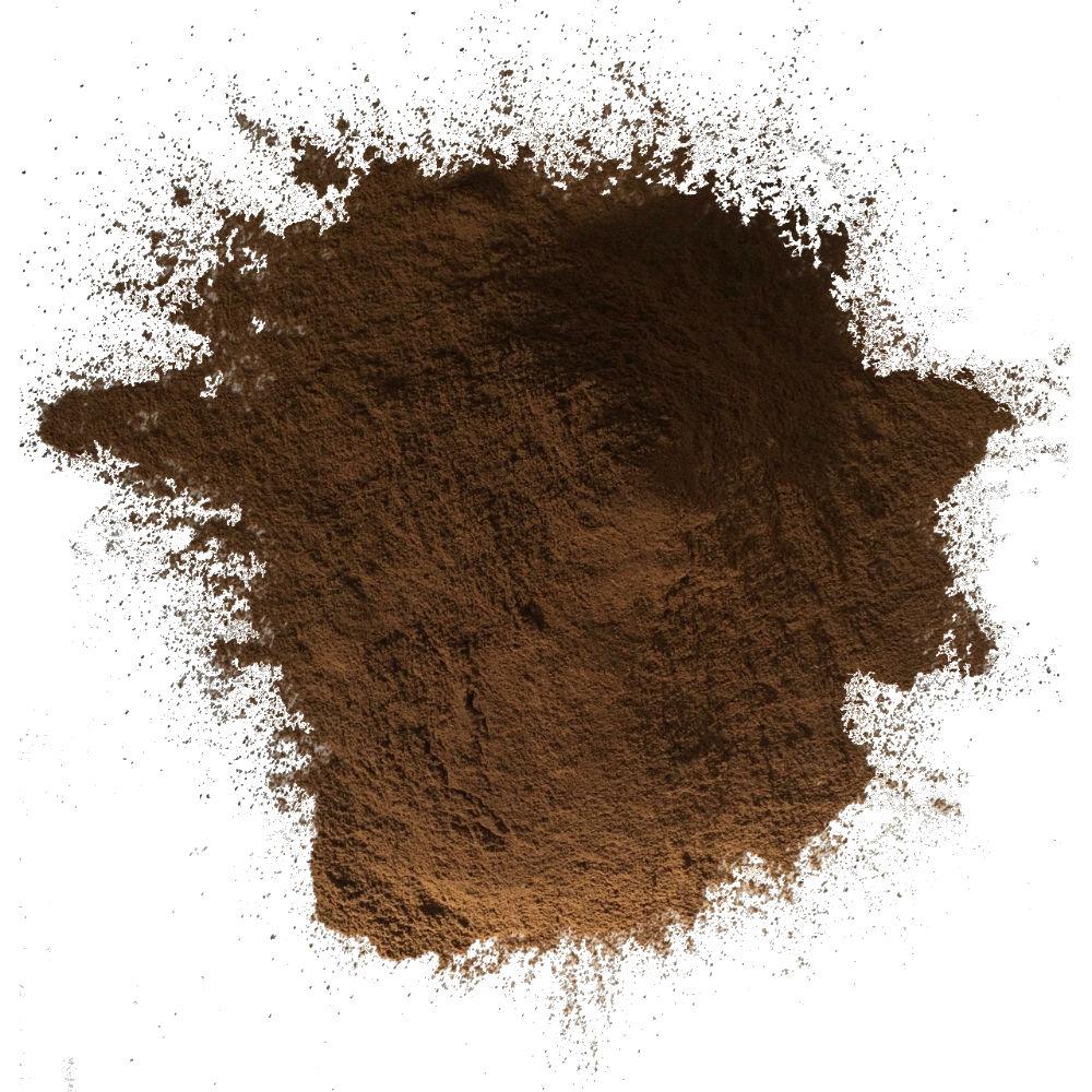 "Dark Roast Maya Powder has a rich, espresso-like flavor. Delicious in chocolate baked goods or as a caffeine-free instant ""coffee"" beverage"