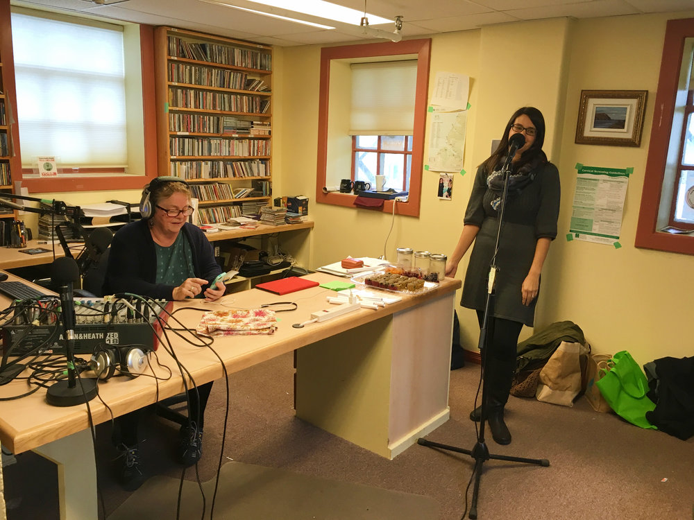 Cottage Hospital Artists and Crafters Fair and VOBB Radio 2016