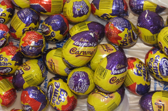 I guess we bought our fair share of the Cadbury's Creme egg