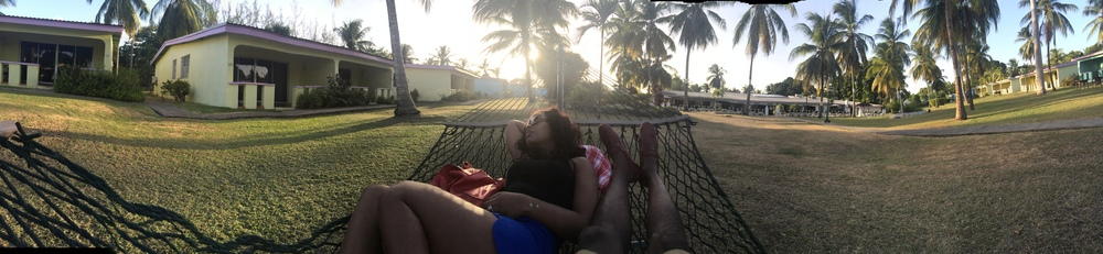 Panoramic view - I'm definitely about that Hammock life