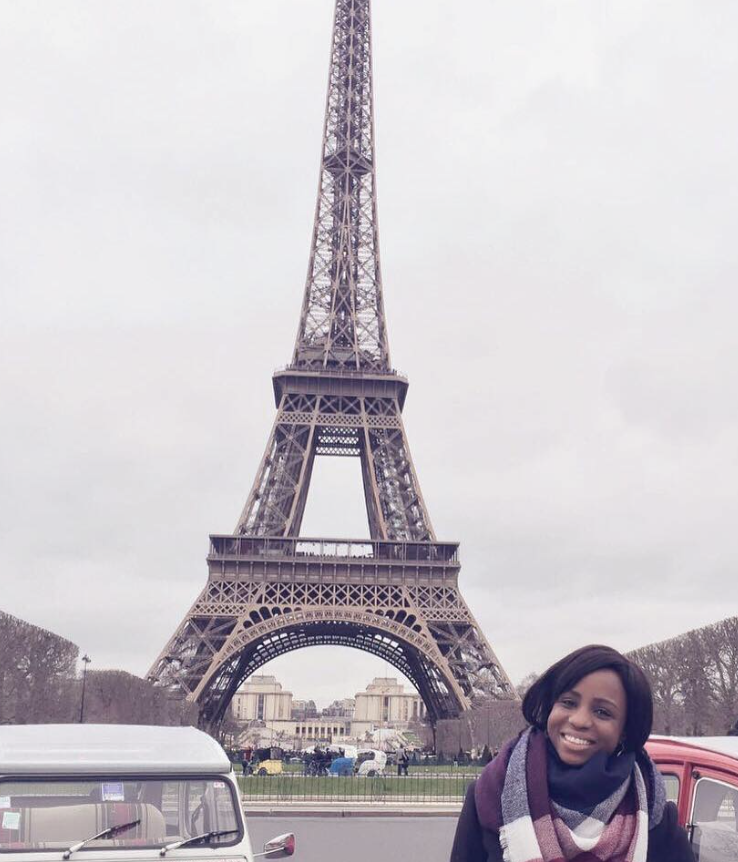 When in Paris, France - an Eiffel Tower photo is a must!
