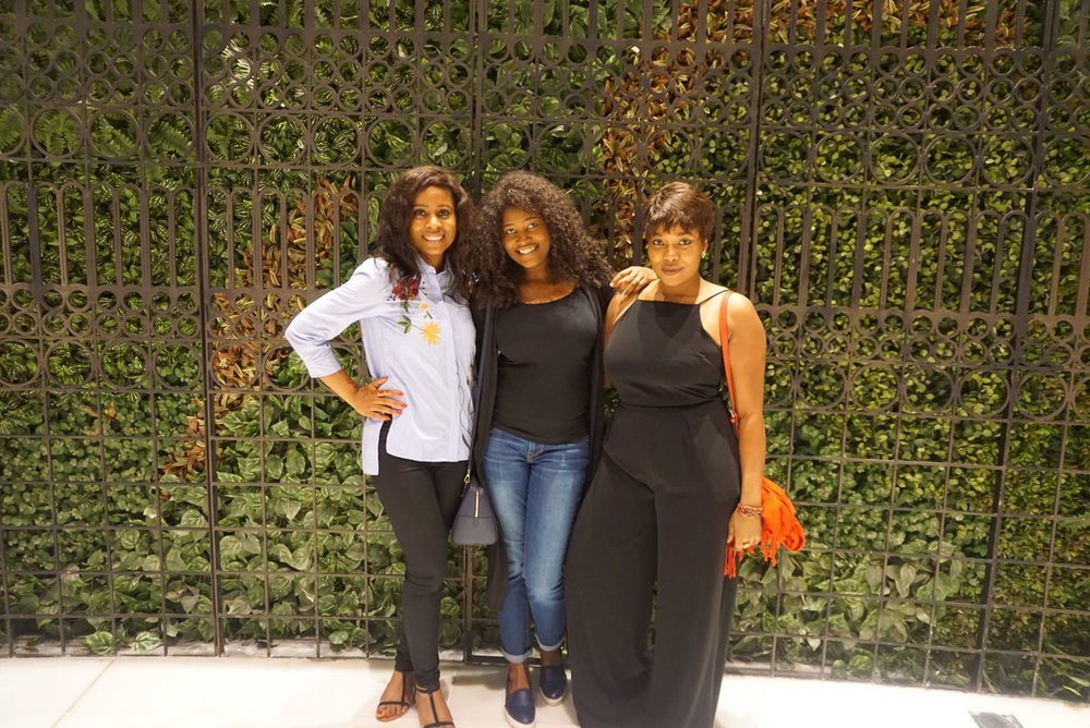 Kachee, Lara & Tega