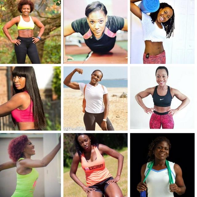 L-R: April, Bunmi, Kola, Rachael,Gbemi, Motunrayo, Eziaha, Lolah and Esta